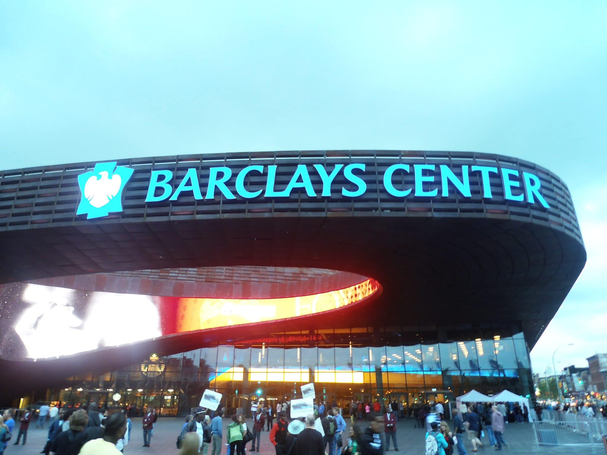 Barclays Center (source: Wikipedia)