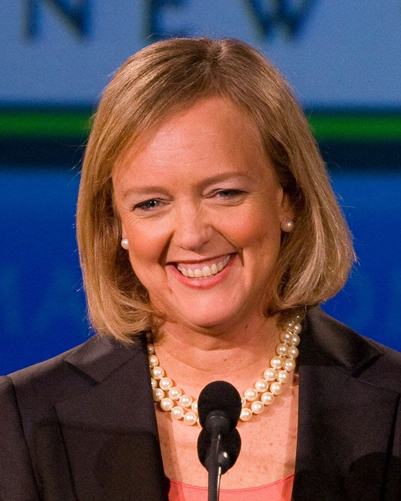 Meg Whitman, Chief Executive Officer of Hewlett-Packard