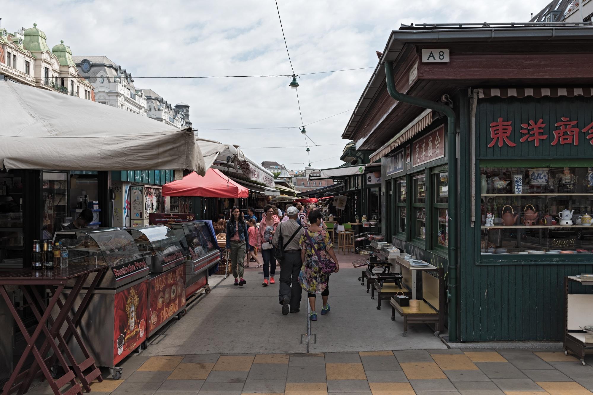 Naschmarkt in Vienna, Austria